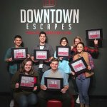 Our team made it out in 54 minutes! So much fun!