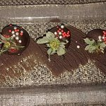 Chocolate covered strawberries (?!?)