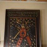 armoiries gravées (1602)