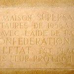 plaque commémorative (1960)