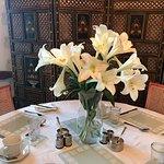 Quaint vintage breakfast room