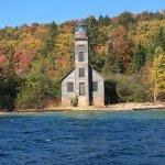 Light house on Grand Island