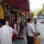 Shops decorated Khan Market