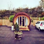 The glamping pod itself. Suzuki not included (but you already knew that).