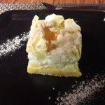 Dessert - Tarte au yuzu meringuée