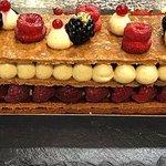 Millefeuille Chariot à desserts