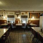 Saddlerock Cafe side room (between bfast and lunch crowd)