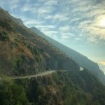 Road along the Amalfi Coast