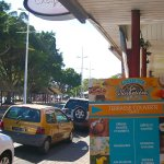 Took the Lyvai Ho Ho Bus to Anse Vata to get dessert at the Sorbetière.