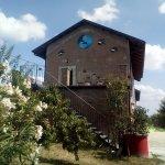 ingresso cortile del B&B La Casa Che Ride