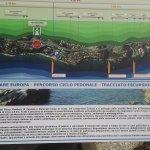 Lungomare Europa - pista ciclabile fra Varazze e Cogoletoの写真