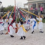 Maypole Dancers on a Live Day