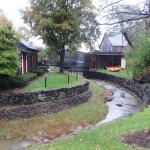 """Limestone Water Running Through the Creek at Maker's Mark Distillery"""