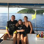 Our family aboard the Pawara!