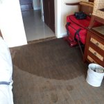 My bedroom floor regularly flooded - no obvious route in - the whole building was waterlogged.