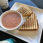 Grilled Cheese and Tomato Soup Monday's Lunch Special