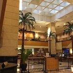 Corus lobby and room