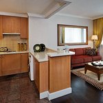 Our One-Bedroom Superior Suite offers a Kitchen so you can prepare meals while traveling.
