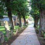 Pathway up to the church