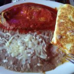 Chicken quesadilla was wonderful, but Chile Relleno was too wet and bland.