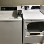 Coin operated washer and dryer
