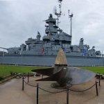 Panorama of USS Alabama