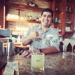 Luana Bar - Mixology Class, Aaron the awesome bartender!