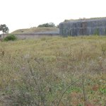 Front of WW2 section of fort looking toward old Fort Moutrie