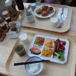 Breakfast - same menu