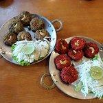 Hara bhara kebab & Chilly kebab