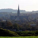 A view of Salisbury from site .