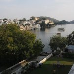 View of Lake Pichola from our room