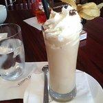 Gerührter Eiskaffee