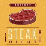 Tuesday is steak deal night