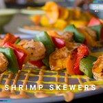 Mouth Watering Shrimp Skewers