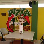 Dining area outside - Pizza Bob´s