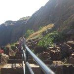 Brahmagiri trek steps