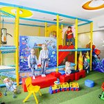 Children's playroom Детская игровая комната, Resort & SPA Hotel NEMO with dolphins