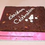 Chirstmas with plum cake