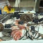 Een fantastisch assortiment van verse vis.