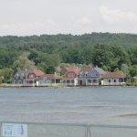Le lac vu des chambres