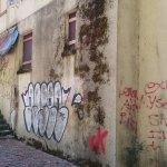 So sad to see so much graffiti