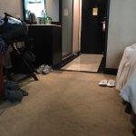 Filthy carpet.