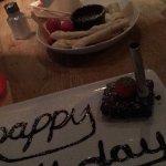 Our amazing dessert