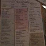 The newest menu