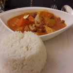 my masaman chicken curry at Chaoprhaya, Glasgow
