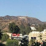 View of sign from Hollywood Boulevard