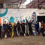 Outside Moksha - Surf Xchanging together