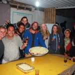 Celebrating our lasagna