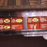 part of menu